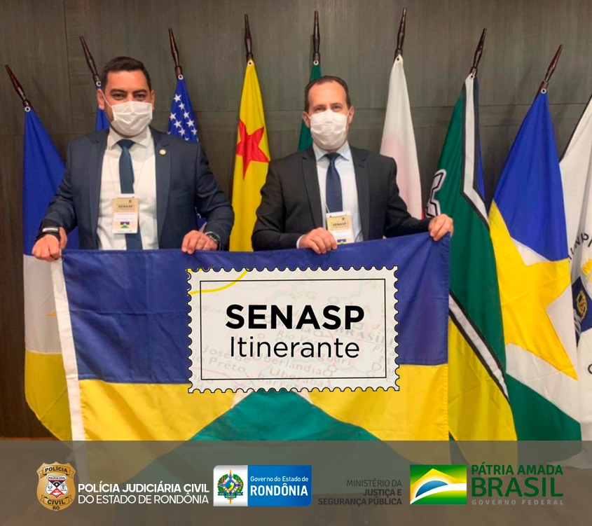 PCRO participa de ação SENASP INTINERANTE.